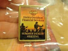 NEW Rare Harley Davidson Financial Services PIN Summer Dealer Meeting 2007 flhrc