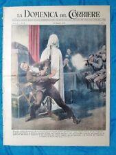 La Domenica del Corriere 22 maggio 1949 Foggia - Inghilterra - Tunnel Manica