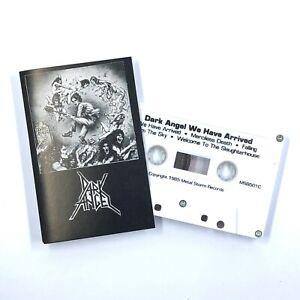 DARK ANGEL We Have Arrived Cassette Tape 1985 Metal Storm Thrash Rare