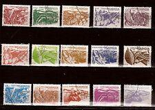 49 T2 NICARAGUA SERIE 15 timbres oblitérés 1983:La reforme agraire
