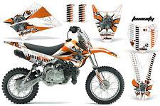 KLX110 Kawasaki Graphic Kit AMR Racing Decal Sticker Kawi Part 2010-2013 TOXIC O