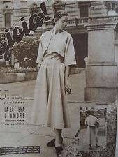 GIOIA rivista di moda n°32 1948 -  [C33]