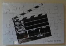 Unique New Movie Director's Clapper PUZZLE Postcard