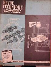 FORD Taunus 12MP4 (moteur ISARD) - Revue Technique Automobile