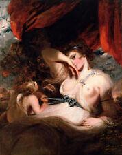 Dream-art art Oil painting Joshua Reynolds Angel Cupid Untying the Zone of Venus