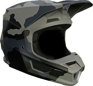 Fox Racing V1 Oktiv Trev Ultra Helmets MVRS Motocross Off-Road MX/ATV/UTV Adult