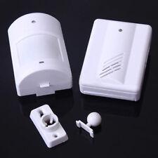Infrarrojos Inalámbricos Monitor Sensor Detector Entrada Doorbell Alarma Timbre