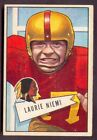 1952 Bowman Large Football Cards 25