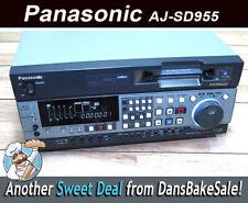 Panasonic AJ-SD955BP DVC Pro 50 Video Recorder with Firewire DV and SDI options!