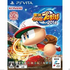 Jikkyou Powerful Pro Yakyuu 2016 PS Vita SONY JAPANESE NEW JAPANZON