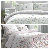 Dreams & Drapes EVIE Colourful Floral Easy Care Duvet Cover Set