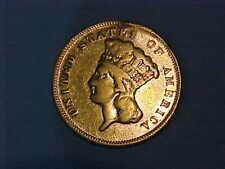1878 $3 Gold Princess *Slight Damage*