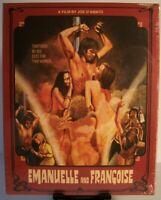 Emanuelle and Francoise Blu-ray w/Slipcover (2019 - Severin) Joe D'Amato Revenge