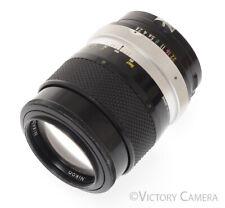 Nikon Nikkor-Q 135mm f2.8 Photomic non-AI Lens -Clean- (992-3)