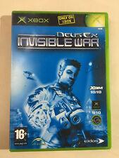 DEUS EX INVISIBLE WAR - XBOX original Complete