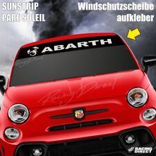 815 Pare soleil logo FIAT ABARTH sticker aufkleber sunstrip decal 500 Punto