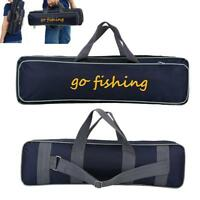 Fishing Rod Case Bag Holder Travel Organizer Tackle Tool Storage Double Layer GL
