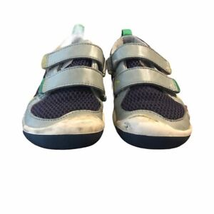 Plae Grey and Blue Boys Shoes Size 11