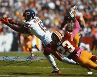 Brandon Marshall Autographed 16x20 Catch Against Redskins Photo- JSA W Auth