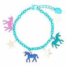 Unicorn Charm Bracelet Unicorn Shine Charm Teal Pegasus Horse Jewelry