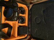 canon eos rp mirrorless camera with accessories