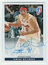 2007 WNBA Authentic Original Autograph Tamika Whitmore Indiana Fever
