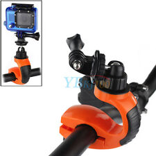 360° Rotate Bike Cycling Handlebar Mount Clamp Clip Holder For Camera Gopro 3+4