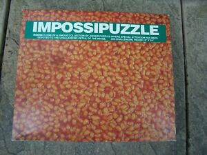 Used Impossipuzzle Baked Beans 550 x Piece Jigsaw Puzzle