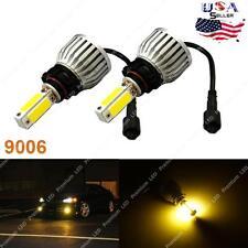 2016 48W 8000LM LED Fog Lights Kit Bulbs 3000K Yellow High Power 9006 HB4