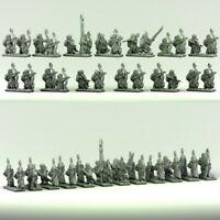Forest Dragon Impressions 3D Wood Elves-Archers Bündel 1-Echelle 10MM