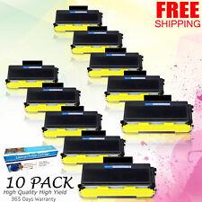 10x TN650 Premimu Toner For Brother MFC-8380DN/8480DN/8680DN/8690DW/8890DW/8880D