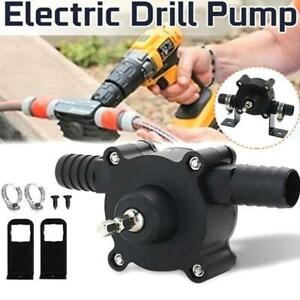 Hand Electric Drill Drive Self Priming Pump Home Oil Fluid Water Transfer Tool*1