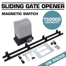 Sliding Electric Gate Opener 1500kg Automatic Motor Remote Kit Heavy Duty