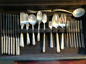TOWLE CANDLELIGHT 925 STERLING SILVER 67 PIECE FLATWARE SET