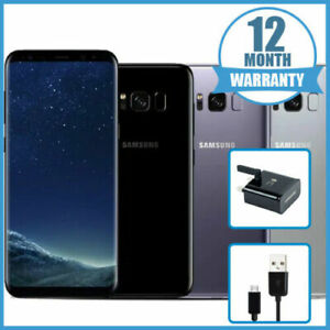 OFFER Samsung Galaxy S8 64GB Unlocked Mobile Phone Smartphone 12 Months Warranty