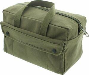 Olive Drab Heavyweight Military Mechanics Standard Tool Bag