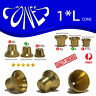LARGE Cone Pieces  - Large Brass cone Piece - metal smoking pipe