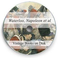 Rare Battle of Waterloo Books on DVD Napoleon Bonaparte Wellington Campaign 233