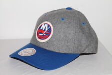 Mitchell & Ness VINTAGE NY ISLANDERS NHL HEATHER MELTON SLOUCH SNAPBACK DAD CAP