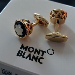 Montblanc Cufflinks - Gold