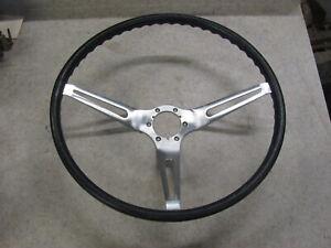 Original 1963 63 Corvette ONLY Dark Blue Steering Wheel Daytona