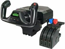 Logitech Flight Yoke Throttle System - Black