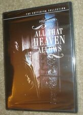 All That Heaven Allows (DVD, 2001, Criterion Collection), NEW & SEALED,VERY RARE
