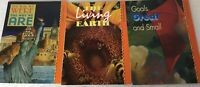 Lot of 3 Scott Foresman Reading Living Earth Goals Great & Small Way We Were PB