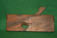 "Antique Vintage Union Factory ~ H. Chapin 1"" Skew Rabbet Moulding Plane Inv#HB11"