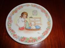 Gresham Collectors Plate WE'RE ALL GOING TO SLEEP NOW - MEMORIES OF YESTERDAY