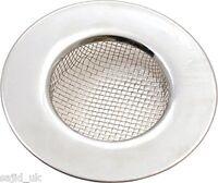 Tala Stainless Steel Mini Bath Basin Hair Trap Plug Hole Cover Sink Strainer