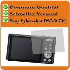 4x Sony Cybershot DSC-W730 TESTSIEG SCHUTZFOLIE Displayschutz Displayschutzfolie