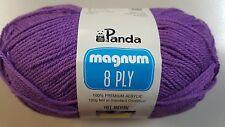 Panda Magnum #2034 Purple 8 Ply 100g Acrylic