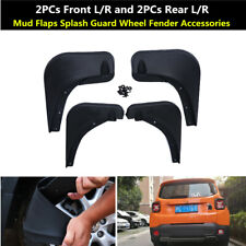 4xFront Rear Mud Flaps Splash Guard Wheel Fender Accessory Fit For Jeep Renegade